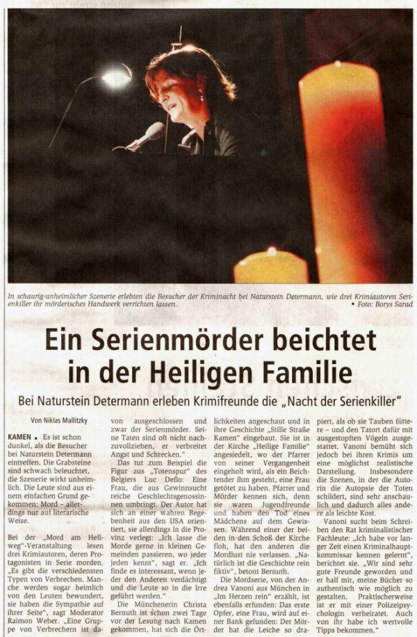 Hellweger Anzeiger 27. September 2008