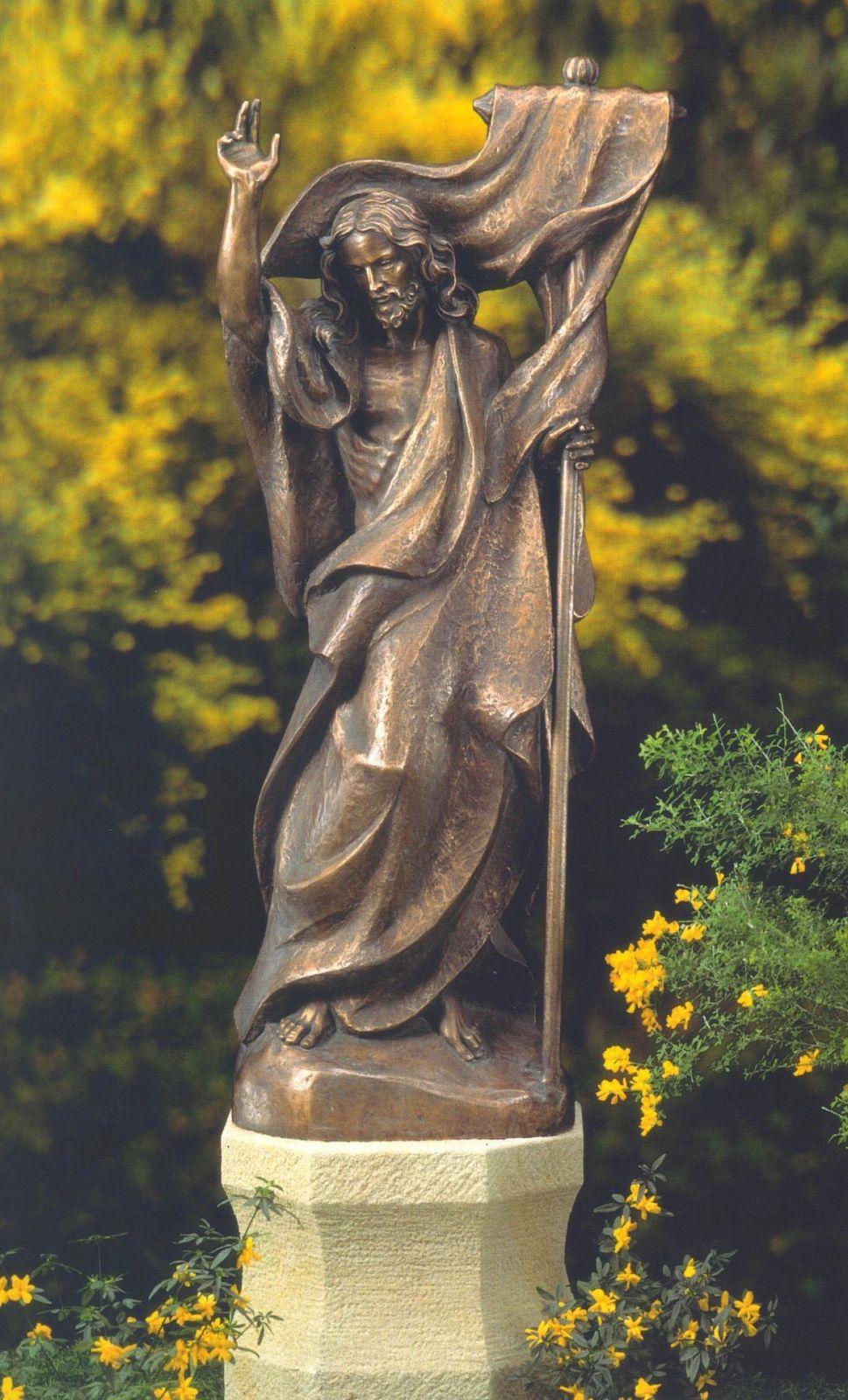 Engel aus Bronze