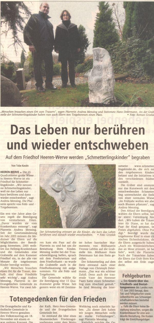 Hellweger Anzeiger 14. November 2007